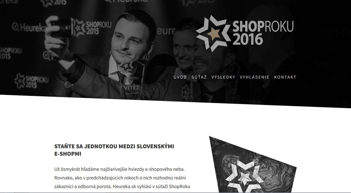2ae29aec99e1 ShopRoku 2016  Ôsmy ročník súťaže o najlepšie e-shopy - Instoreslovakia